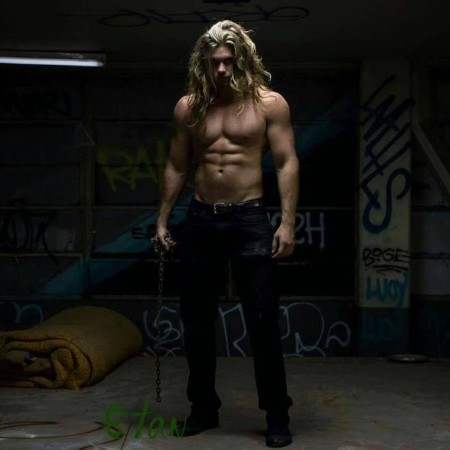 The lovely Brock O'Hurn, my inspiration for one of the characters in this story  https://www.facebook.com/brockohurnofficial